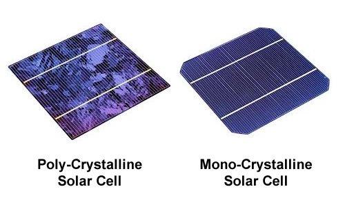 mono-v-poly-crystalline-cells Monocrystalline and Polycrystalline