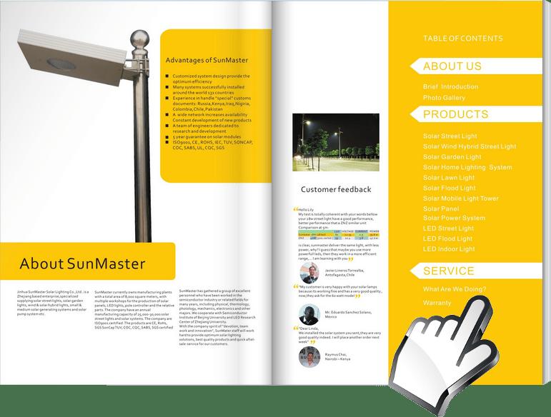Solar-Street-Lights-Catalogue Sunmaster - Solar Lights Manufacturer