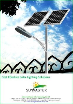 SolarStreet Solar Lighting price list