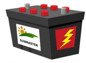 BatterySunmaster 300x220 - Solar powered security camera