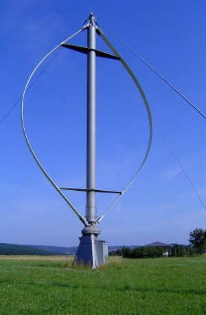 Vertical Axis Wind Turbines  - Vertical and Horizontal axis wind turbines