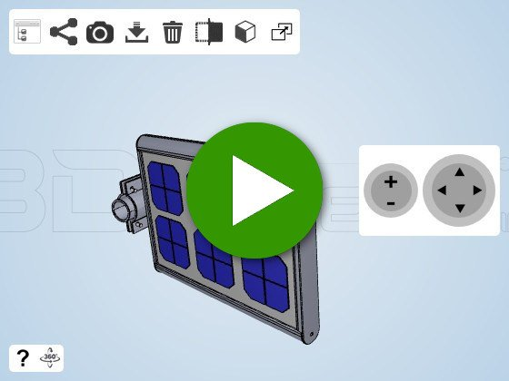 5W 15W - All in one solar street light