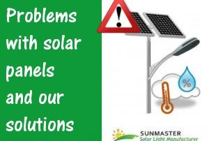 Problems with solar panels and our solutions