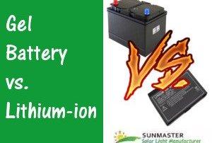 Gel-Battery-Vs-Lithium-Ion Solar Lights Blog