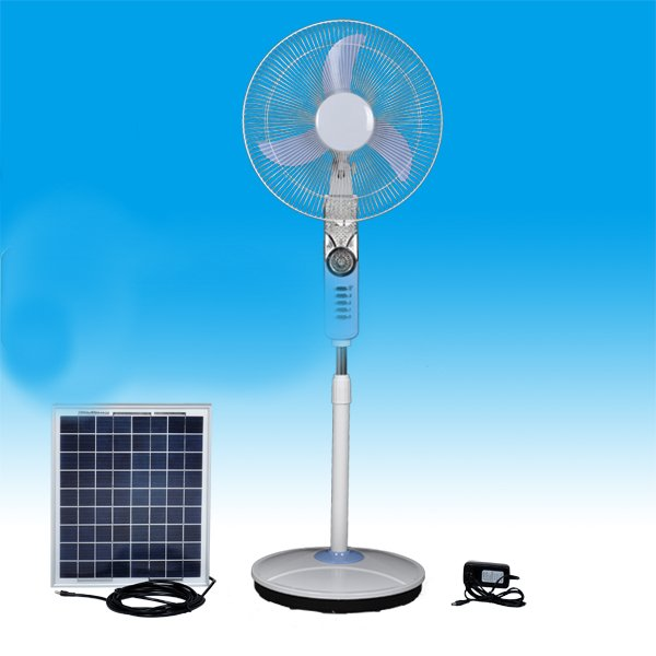 2 Solar Powered Fan