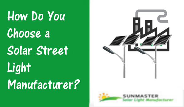 Solar Street Light Manufacturer