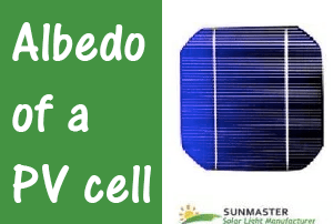 Albedo of a PV Cell - Solar Lights Blog