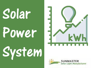 Solar Power System IMG Preview - Approximate Calculation of minimum number of solar panels required for your solar power system