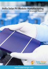 India Solar PV Module Manufacturing Report - Potential, Costs and