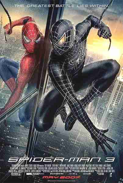 Spiderman 3, locandina del film