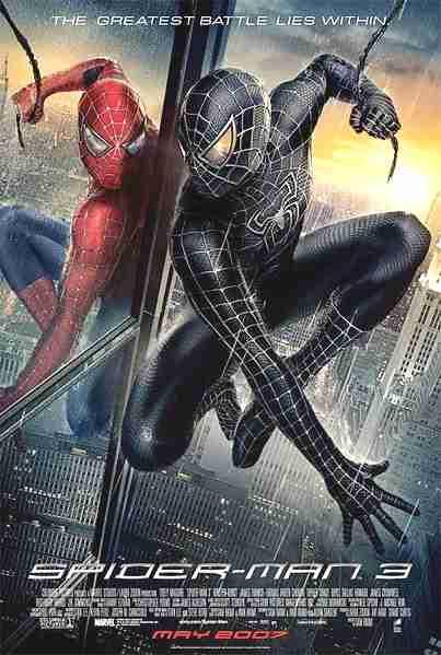 Spiderman 3, locandina del film
