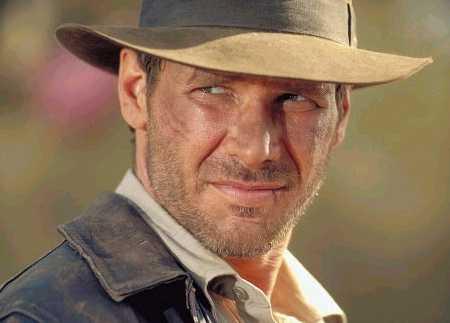 Indiana Jones movie star harrison Ford
