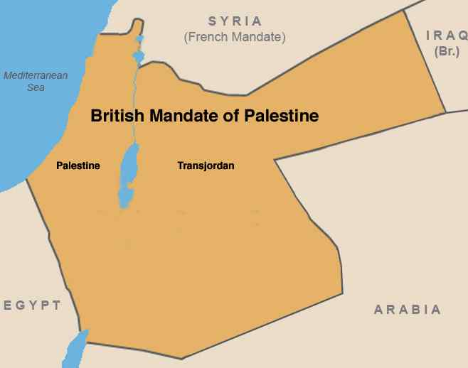 British Mandate of Palestine Before Zionism