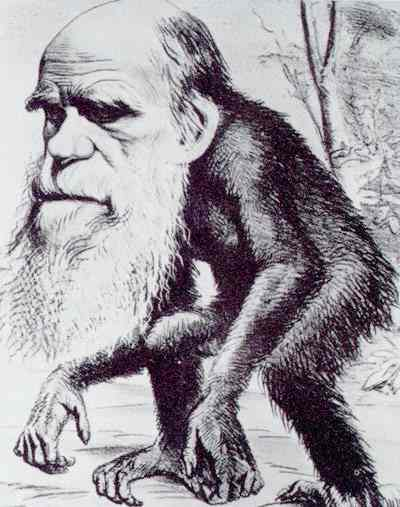 classic Darwin cartoon