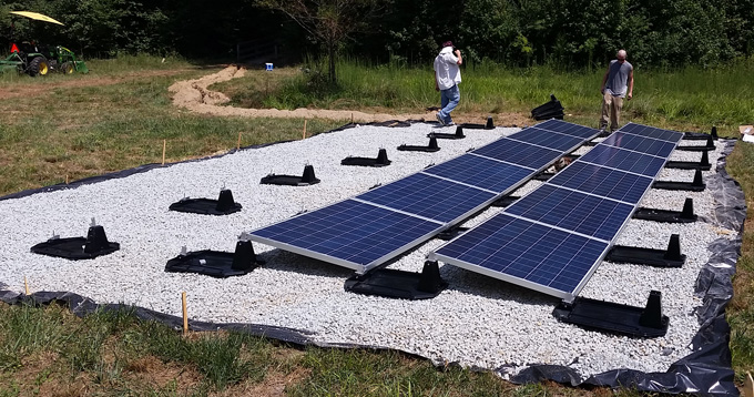 Solar Panel Grounding Wiring Diagram