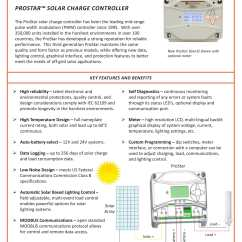 Pwm Solar Charge Controller Circuit Diagram Notifier Duct Detector Wiring Prostar 30 25 Images