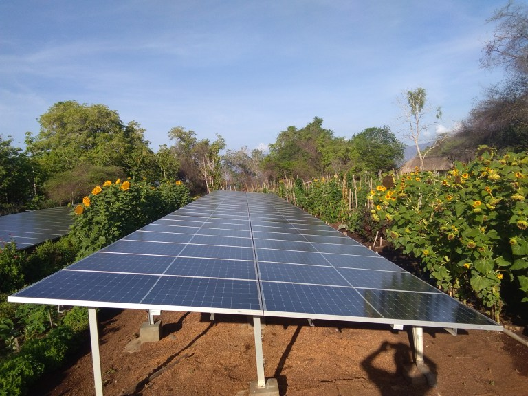 Savu, Alor, Solar Power Indonesia