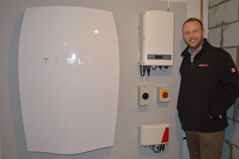 Cardiff installer claims to install UKs first Tesla Powerwall  Solar Power Portal