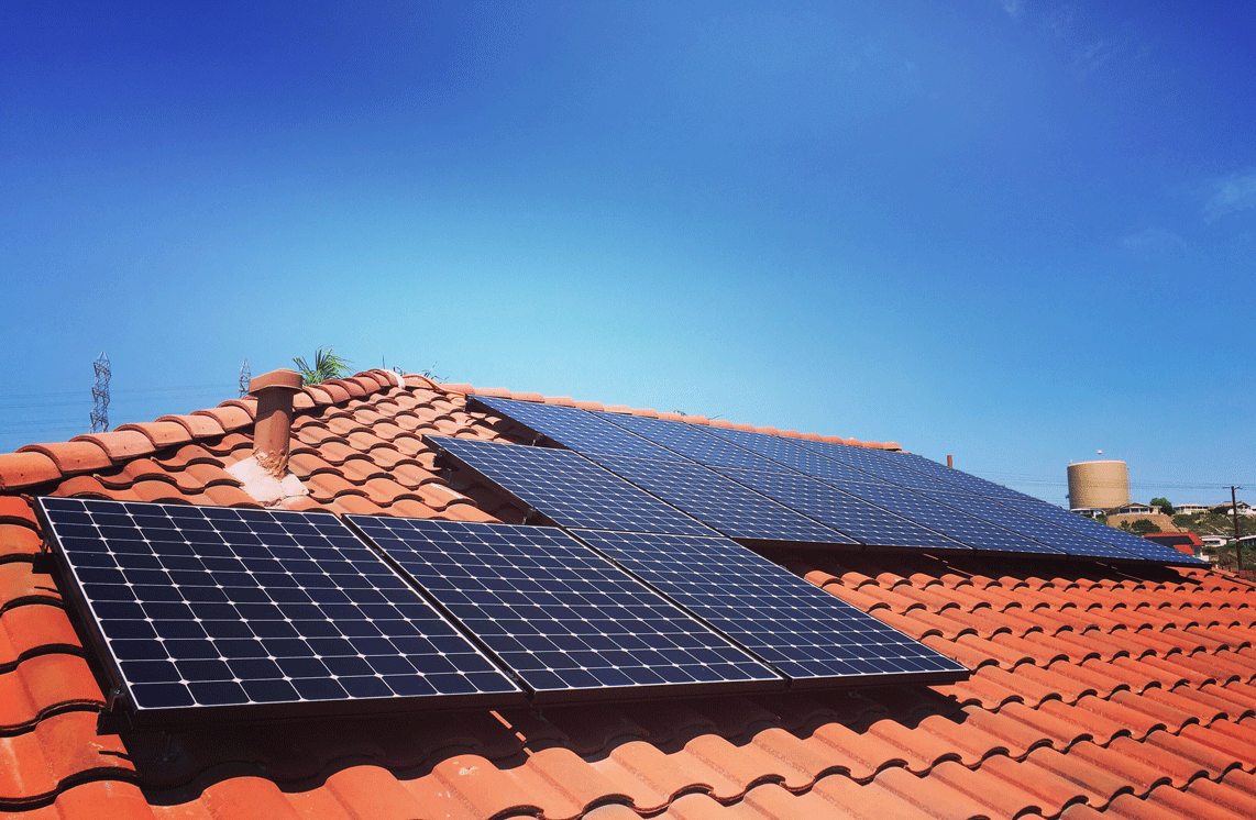 how solar is installed on clay tile roofs