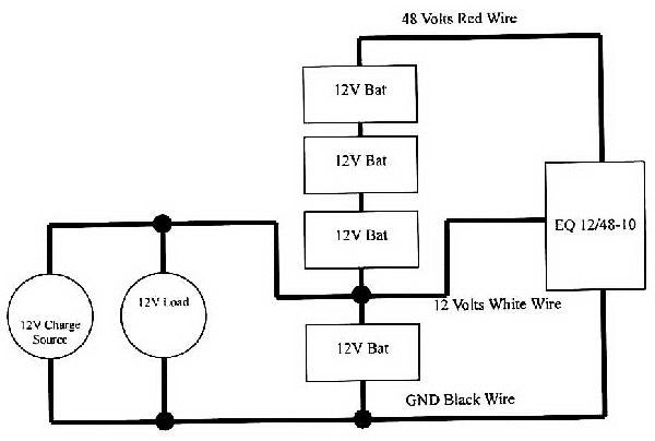load equalizer wiring diagram