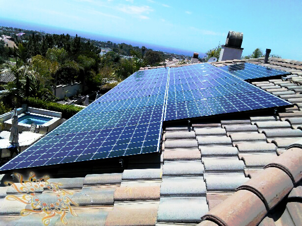 Solar Symphony recently completed another high-quality home solar system at the Ogus residence in Carlsbad. California.