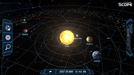 solar system scope online