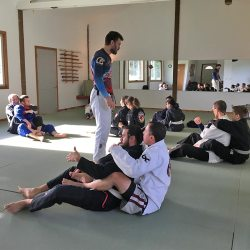 Rob Biernacki seminar at Solarte BJJ in Sequim