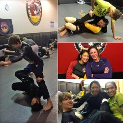 Jenn from Solarte BJJ at Island Top Team in Nanaimo, BC