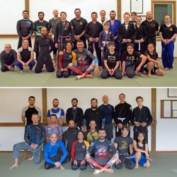 Rob Biernacki Seminar Group Photos at Solarte Brazilian Jiu Jitsu in Sequim