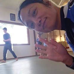 Jenn from Solarte BJJ in Sequim Waving Hello