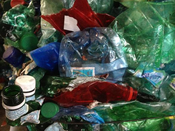 Plastique à trier