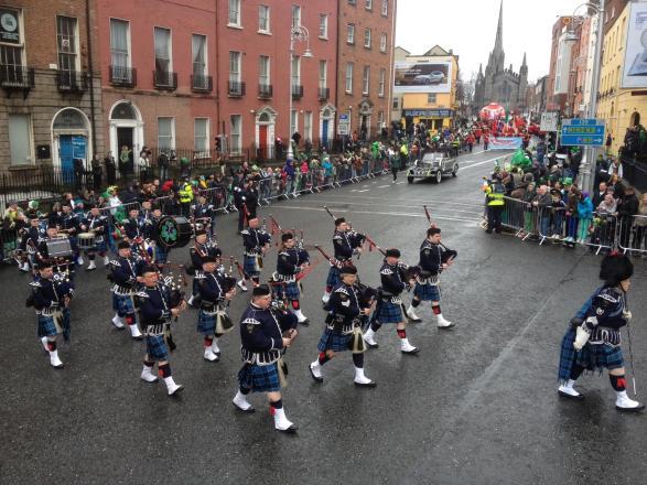 Irlandais St Patrick