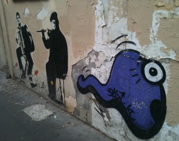 Street art de la rue