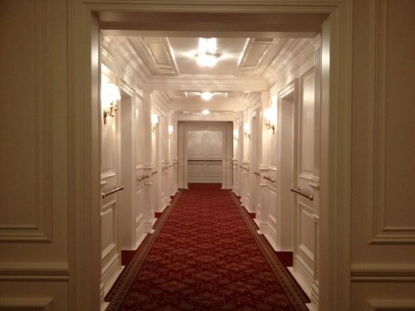 Couloir troisième classe