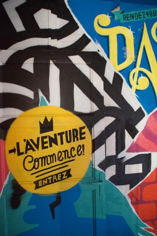 Tour 13 Street art