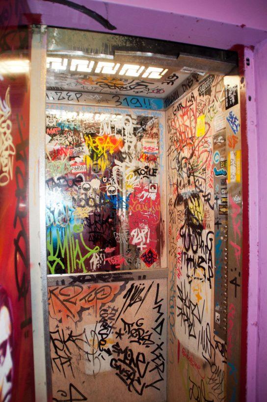 Ascenseur Tour 13