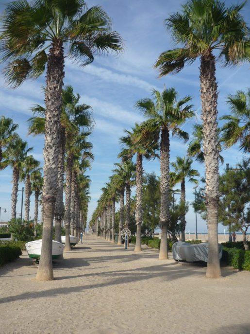 bord de mer de Valencia