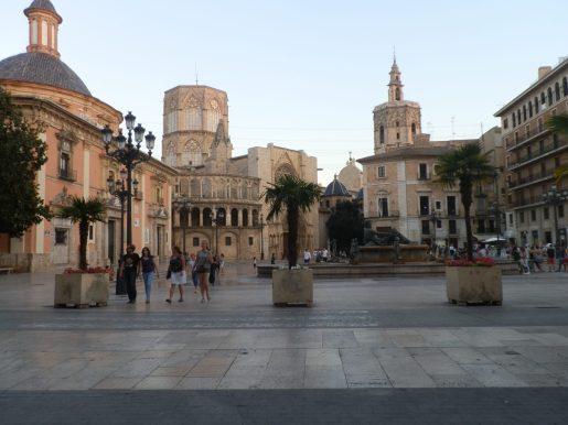Place de la Virgen Valencia