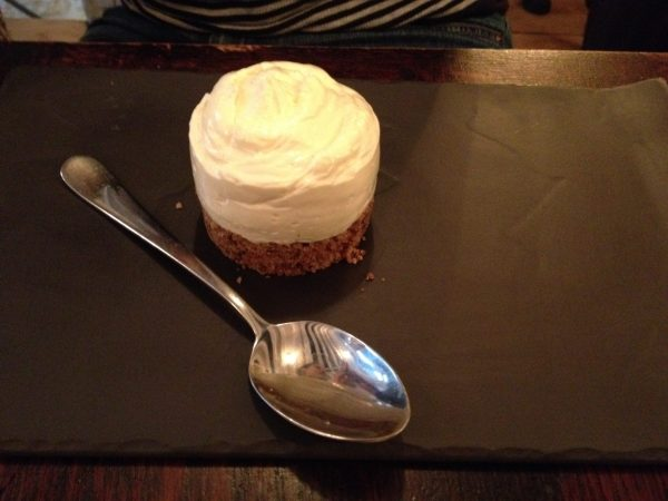 Cheese cake bistrot family