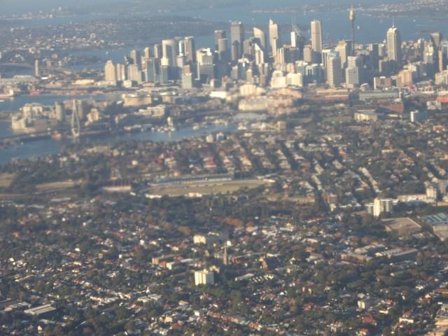 Derniere vue de Sydney