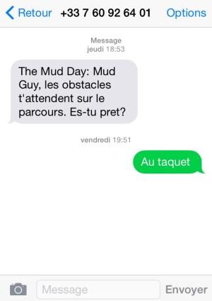Texto Mud Day