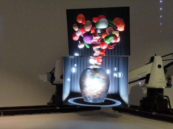 Expo Milan 2015 Corée robot