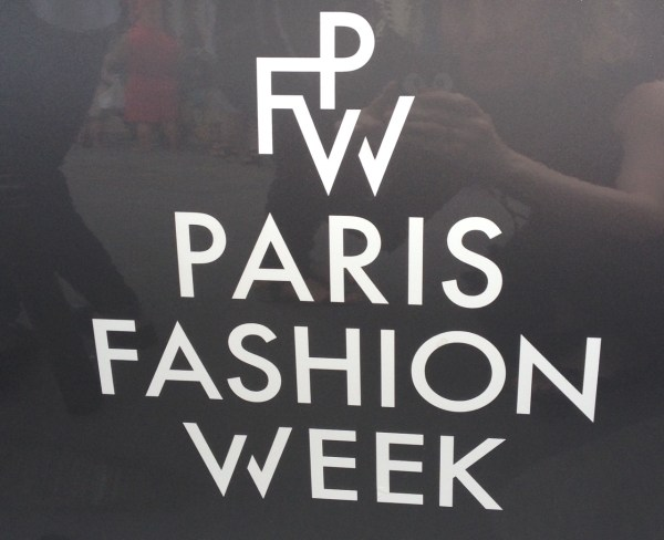 Fashion Week Haute Couture parisienne