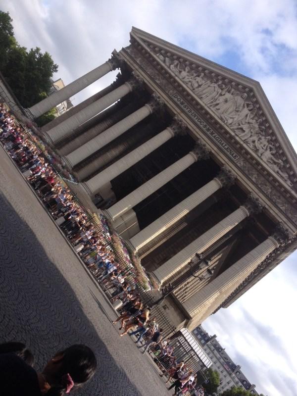 Place de la Madeleine 14 juillet