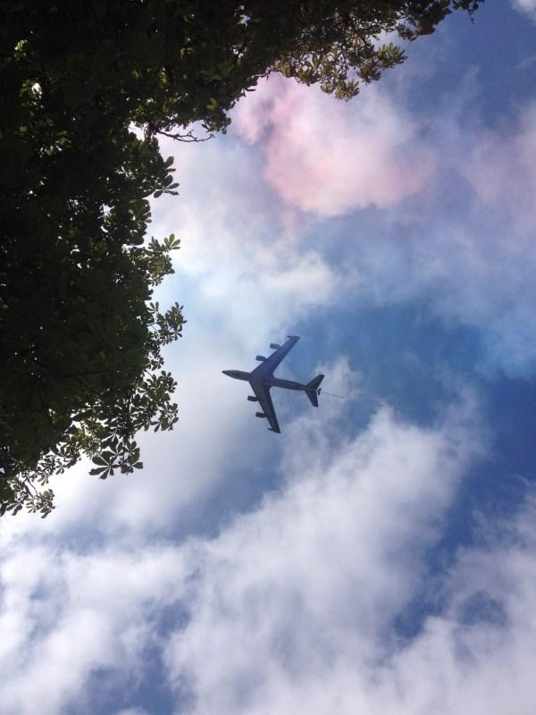 Défilé des avions 14 juillet
