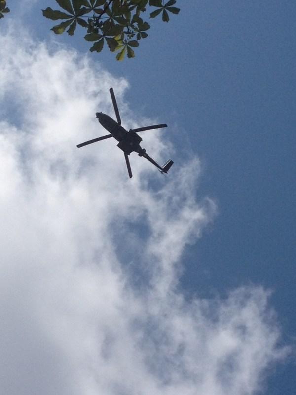 Défilé des hélicoptères 14 juillet