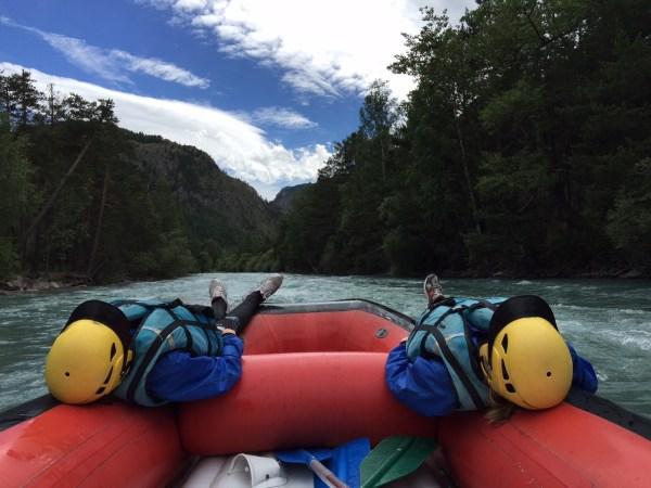 Rafting solcito