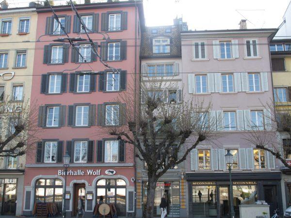 Zurich la vieille ville
