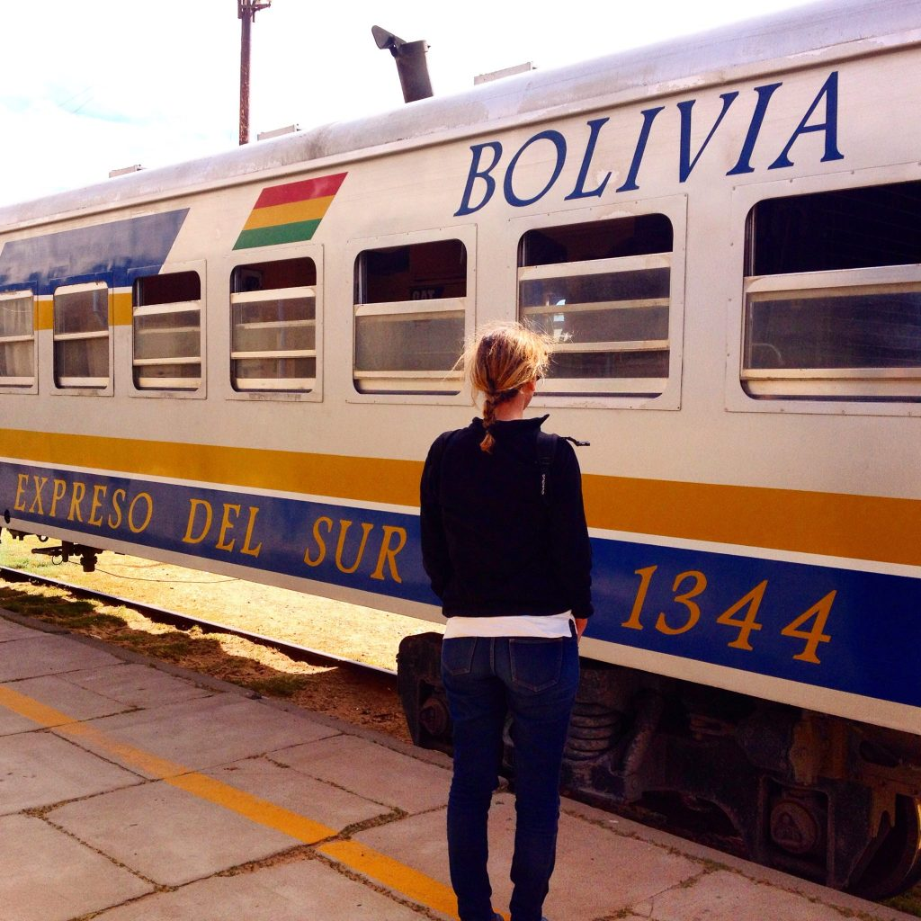Train Bolivie