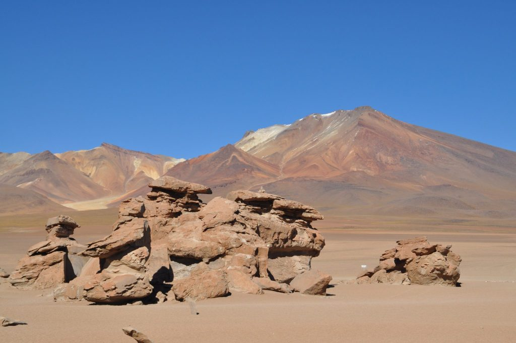 Sculptures de pierre Bolivie